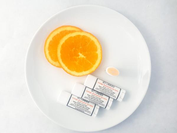Orange Dreamsicle Lip Balm handmade lip balm