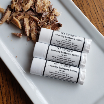 Crunchy Buttered Toffee Lip Balm