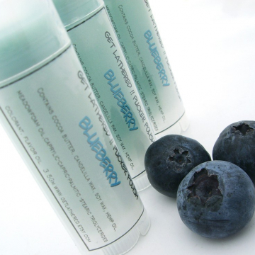 Natural Lip Balm Blueberry