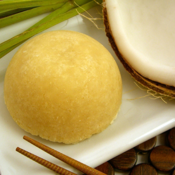 Handmade Solid Shampoo Bar - Thai Coconut Shampoo That Rocks