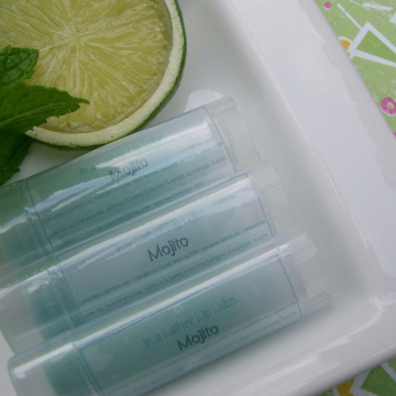 Handmade Mojito Essential Oil Lip Balm