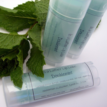Doublemint Essential Oil Lip Balm