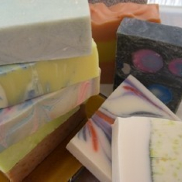 Set of 5 Eye Candy Bar Soaps