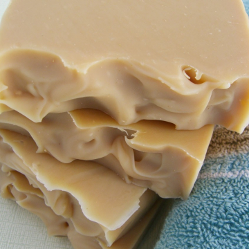 Handmade Unscented Agave Nectar and Jojoba Bar Soap